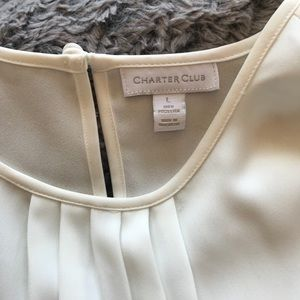 Beautiful cream blouse!